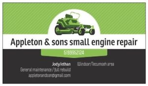 Appleton & sons small engine repair