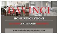 DAvinci Home Renovations !!! 10-15% off the COMPETITION