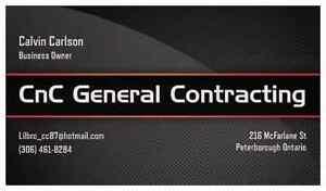 CnC General Contracting  Peterborough Peterborough Area image 1