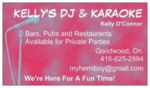 KARAOKE/DJ FOR PARTIES : PRIVATE AND COMMERCIAL
