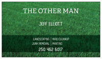 THE OTHER MAN LANDSCAPING