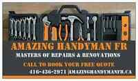 Amazing Handyman and Renovations