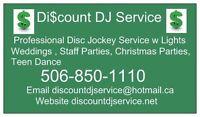 Discount DJ Service Wedding Disc Jockey