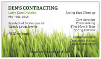 COMMERCIAL LAWN CARE..MOWING..SPRING CLEAN UP