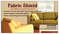 Fabric Shield    Upholstery/Carpet Protection Service