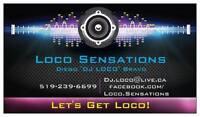 Loco Sensations Djing & Bartending services