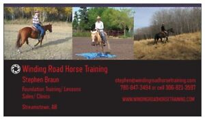 Winding Road Horse training Confidence Clinic Apr.21st/22nd