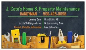 Your new local HANDYMAN is here to help with all your home needs