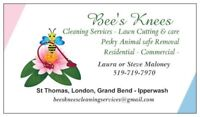 Bee's Knees Cleaning Services & Lawn Care, Property Maintenance