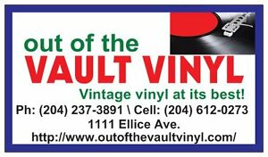 Out of the Vault Vinyl  NEW ARRIVALS THIS WEEK