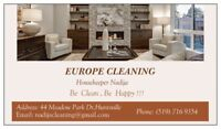 Europe Cleaning Lady