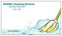 We Offer Quality Cleaning Services  with Competitive Prices