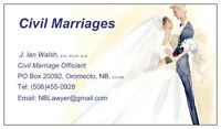 Officiant  -  Civil marriages