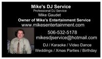 Mike's DJ Service Professional Wedding DJ