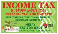 $30.00 FLAT RATE INCOME TAX