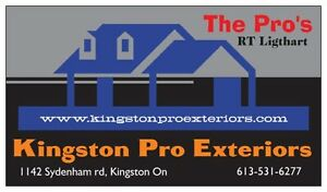 Eavestrough Specialist *** Quality Work + Competitive Pricing ** Kingston Kingston Area image 1