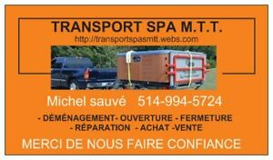 transport / déménagement de spa