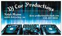 Dj Cue Productions special events and wedding services