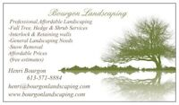 SNOW REMOVAL (BOURGON LANDSCAPING)