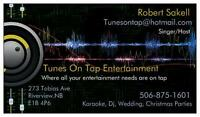 Tunes on tap Entertainment services. (Dj, Karaoke, Solo Musician
