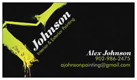 Johnson  (interior/exterior painting)