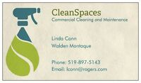 CleanSpaces Commercial Cleaning and Maintenance Services