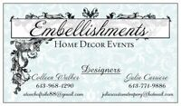 Vendors Wanted For  Embellishments  Home Decor Craft Show & Sale
