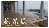 East Shore Carpentry; serving the South Shore and beyond!