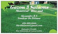 Tonte De Gazon-Pelouse & Déneigement /Lawn Mowing & Snow Removal