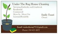 Under The Rug House Cleaning