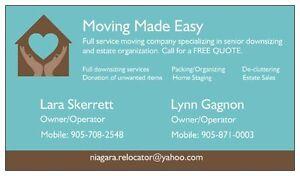 Your Downsizing and Estate Sale Specialists – Moving Made Easy