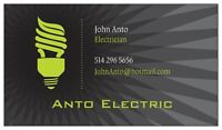 General Handy Man and licensed electrician/électricien Low rate
