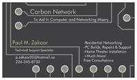 PC / Laptop / Networking / Home Theater - Carbon Network