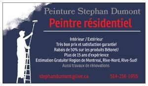 !!! PEINTRE PROFESSIONNEL / PROFESSIONNAL PAINTER !!!