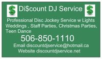 Wedding DJ Discount DJ Service Disc Jockey