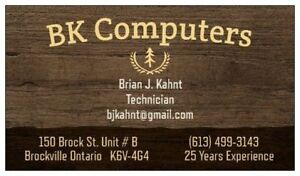 BK Computers & Electronics  Repairs, Rebuilds, New/Refurbished
