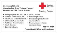Discount Red Cross First Aid and CPR Courses