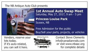 Auto Swap Meet, May 27 in Sussex