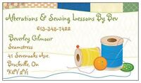 Alterations & Sewing Lessons