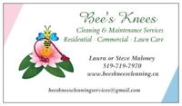 Bees Knees Cleaning & Maintenance & Lawn Care