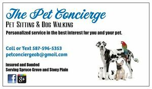 Pet Sitting and Dog Walking - Spruce Grove and Stony Plain