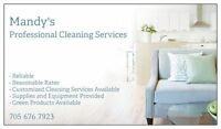 Mandy's Professional Cleaning Services