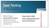 Interior Painter For Hire - Sayer Painting