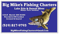 Lake Erie & Detroit River Walleye Charter Fishing!!!
