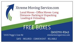 book with Xtreme Moving Service for 60/hr