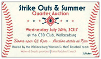 **QUARTER AUCTION** July 26th in Wallaceburg