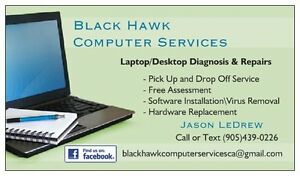 Laptop Repairs- Honest, quick and Free/Drop Off pick up