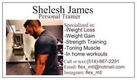 Personal trainer that comes to you.