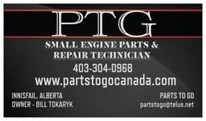 SMALL ENGINE AND OUTDOOR EQUIPMENT PARTS AND REPAIR - INNISFAIL, ALBERTA - CANADA WIDE SHIPPING