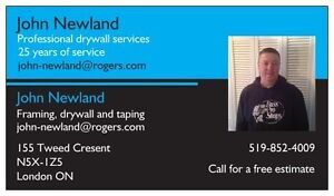 Drywall taper London Ontario image 3